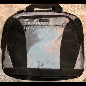 Targus multi functional laptop bag silver & black